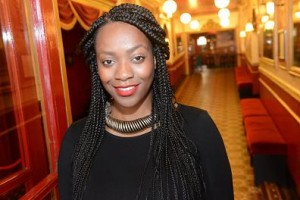 Writer Somalia Seaton at Theatre Royal Stratford East, photo by Robert Day 1